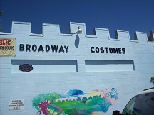Broadway Costumes Storefront - 2012